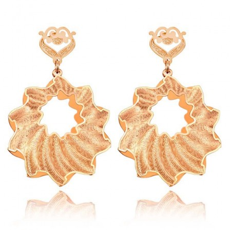 Rose Gold S925 Sterling Silver Female Jewellery Earrings