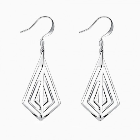 Special Fashion Silver Plated Alloy Earrings