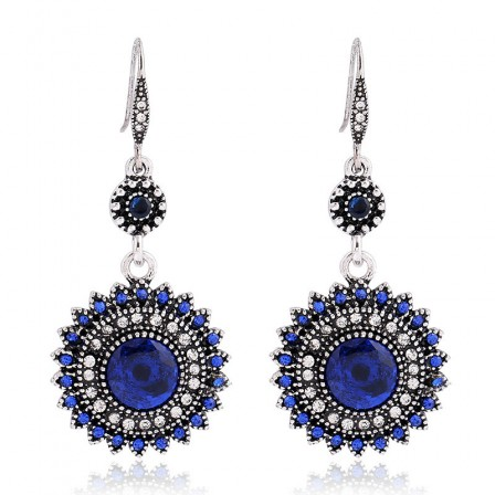 European Bohemia New Retro Sun Flower Earrings