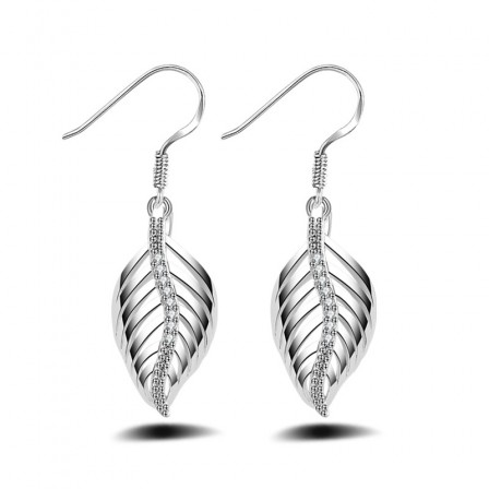 Classic Small S925 Sterling Silver Angel Wings Stud Earrings