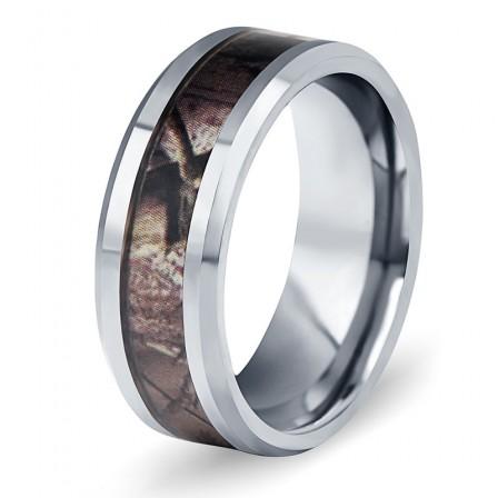 Tungsten Gold Men's Ring