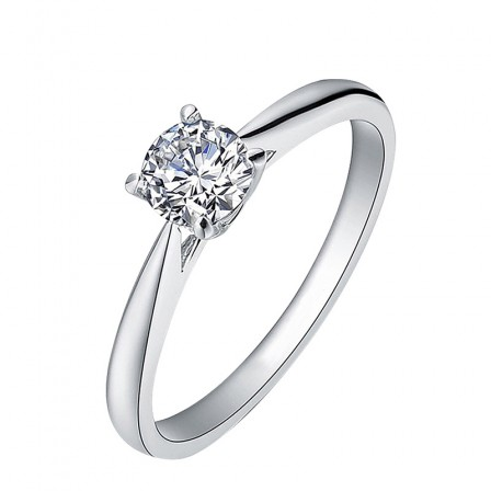 Single Lady Diamond Ring Tail Ring For Gift Lettering