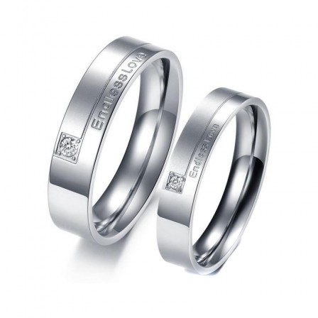 Korean Style Trendy Jewelry Lovers Ring Fashion