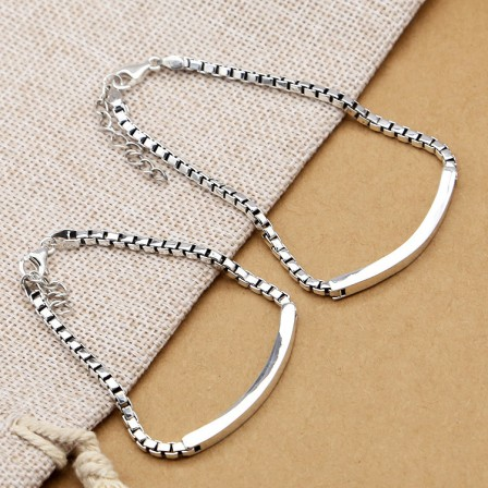 Exquisite S925 Sterling Silver Lovers Bracelets