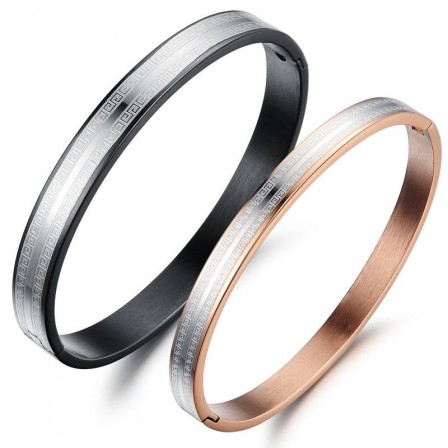 Hot Selling Titanium Steel Lovers Bracelets Popular Valentine's Day Gift