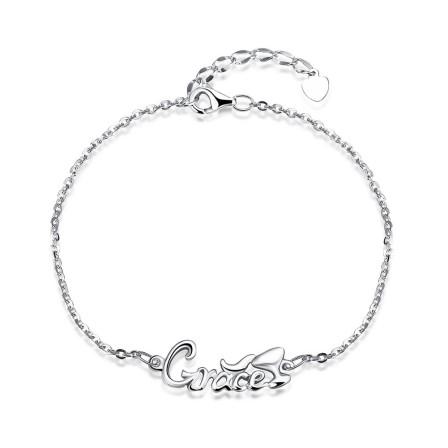 """Grace"" Romantic S925 Sterling Silver Bracelet"