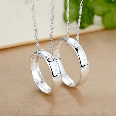 Creative The Lord Of The Rings Design Lovers Necklacess