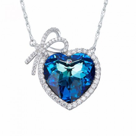 S925 Sterling Silver Short Ladies Necklace