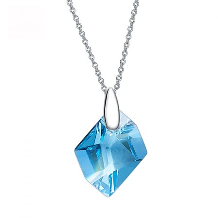 Aesthetic Crystal S925 Sterling Silver Necklace