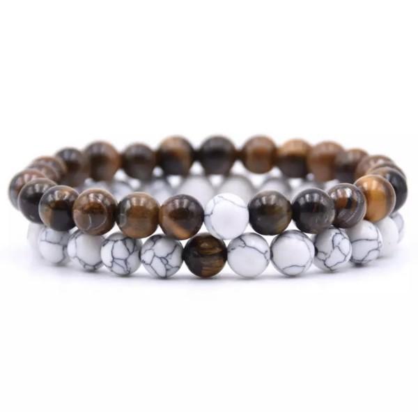 Distance Bracelets - Brown