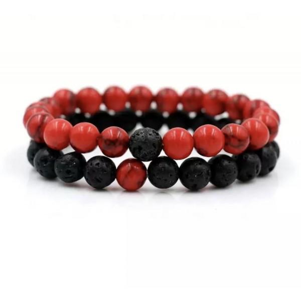 Scarlet Red Distance Bracelets