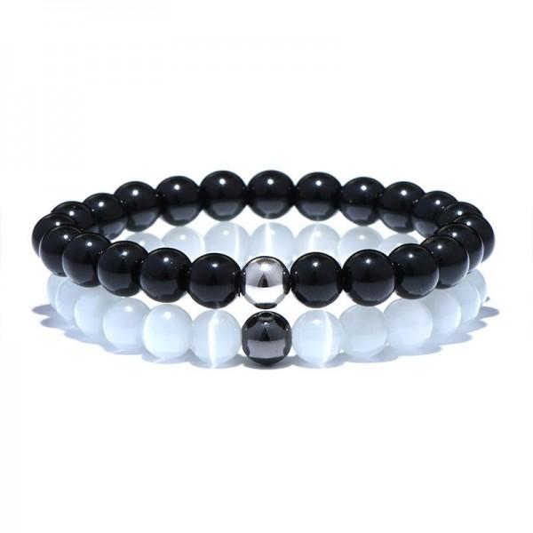 Obsidian Distance Bracelets