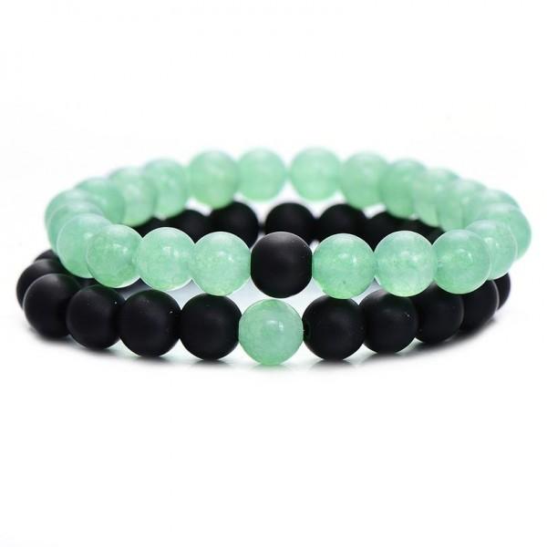 Sea Green Distance Bracelets