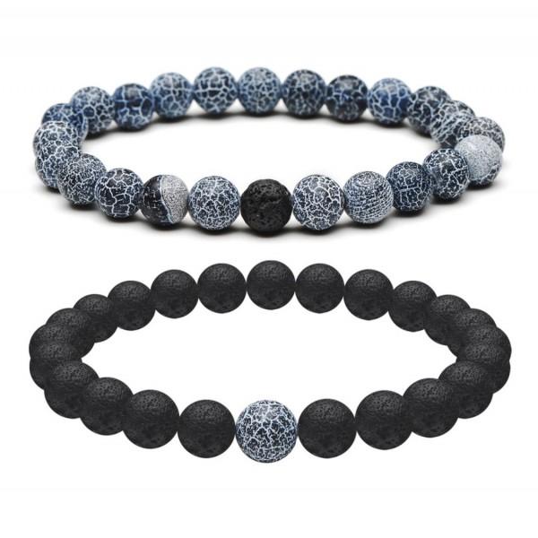 Denim Distance Bracelets