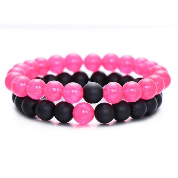 Hot Pink Distance Bracelets