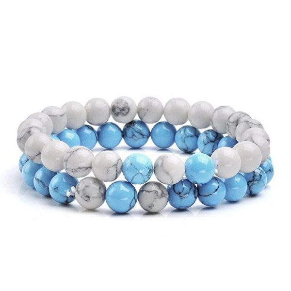 Sky Blue Distance Bracelets