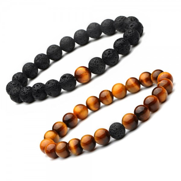 Brown Distance Bracelets