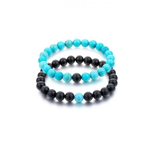 Blue Distance Bracelets