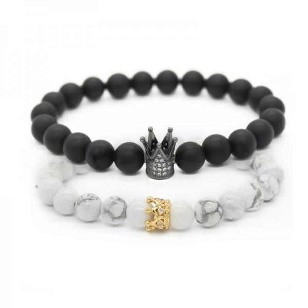 Crown Distance Bracelets - Mix