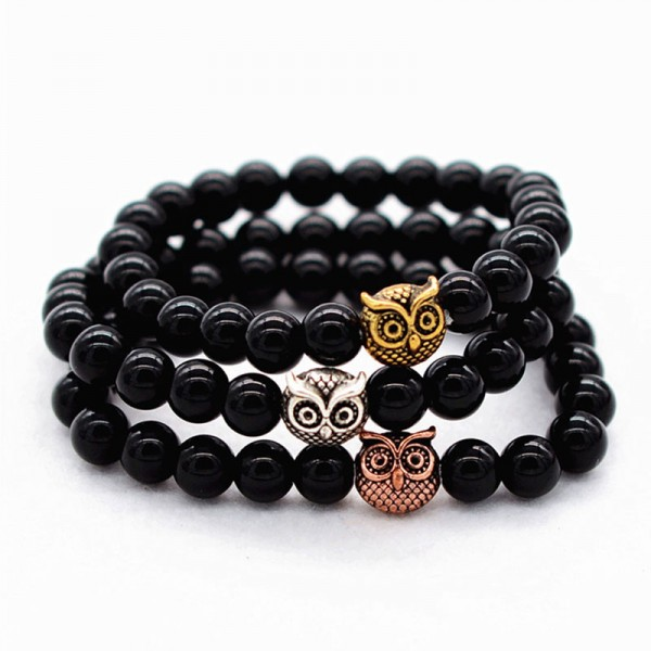 Gold/Sliver/Rose Gold Owl Bracelet