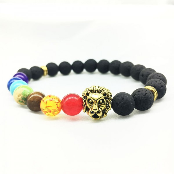 Amazing Multicolor Lion Bracelet