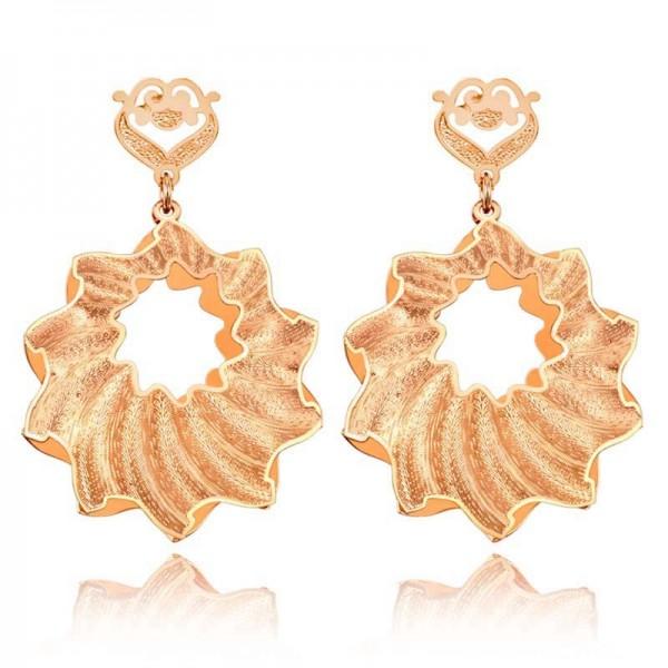 Rose Gold S925 Sterling Silver Female Jewellery Earrings