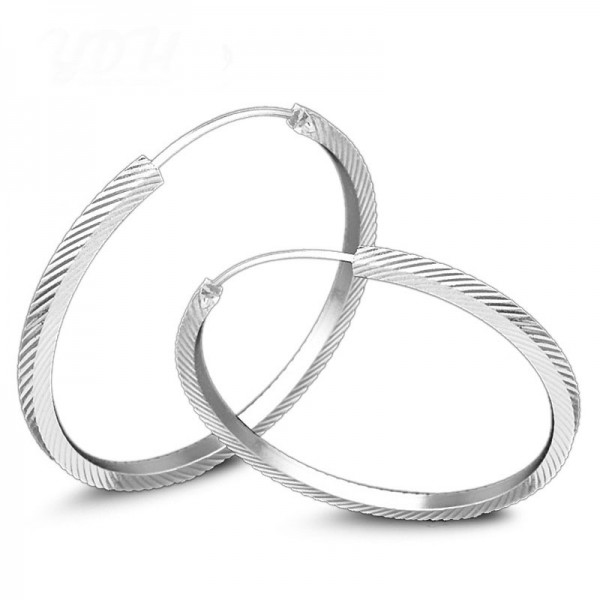 High Quality New Style Round S925 Sterling Silver Earrings