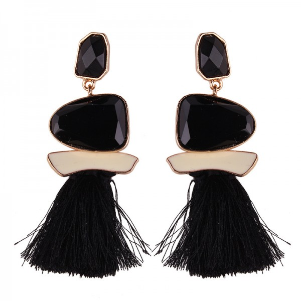Hot Sale Womens Tassel Vintage Exquisite Earrings