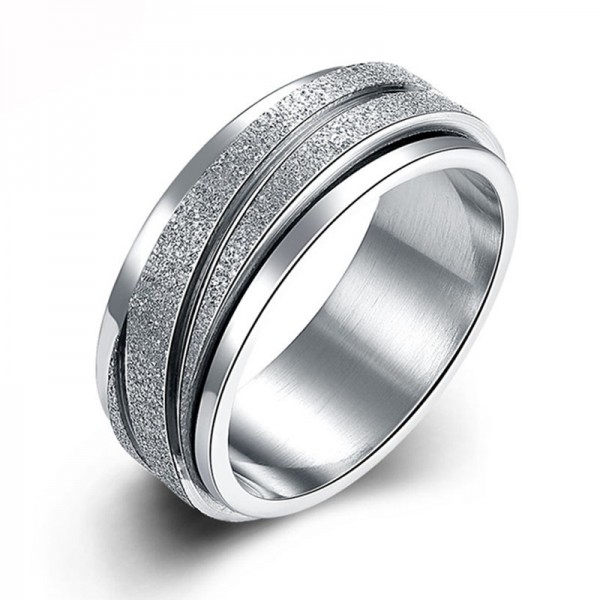 Stainless Steel Ring For Men Luxury and Exquisite Unique Design Dull Polish Craft