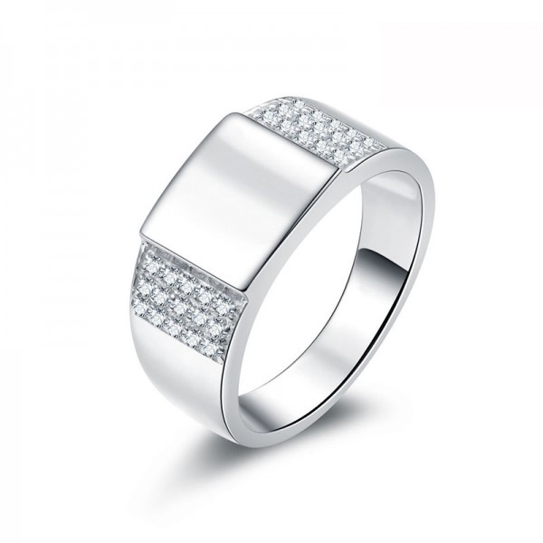 Classic S925 Sterling Silver Men's Ring