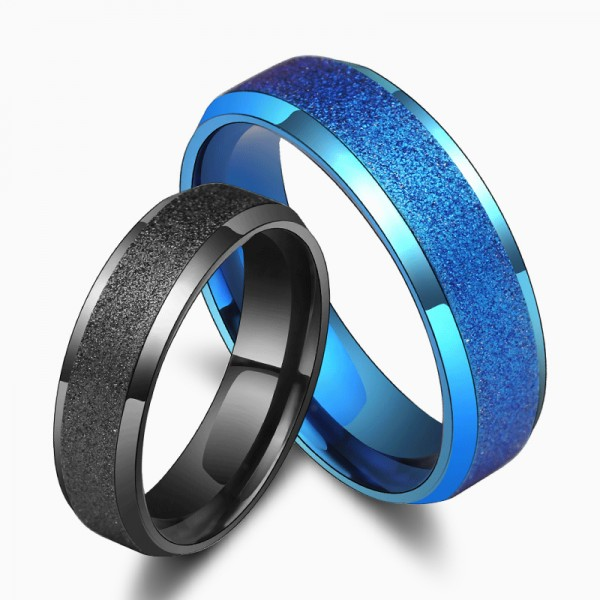 Titanium Ring For Man Fabulous and Fashion Optional Colors Dull Polish Craft