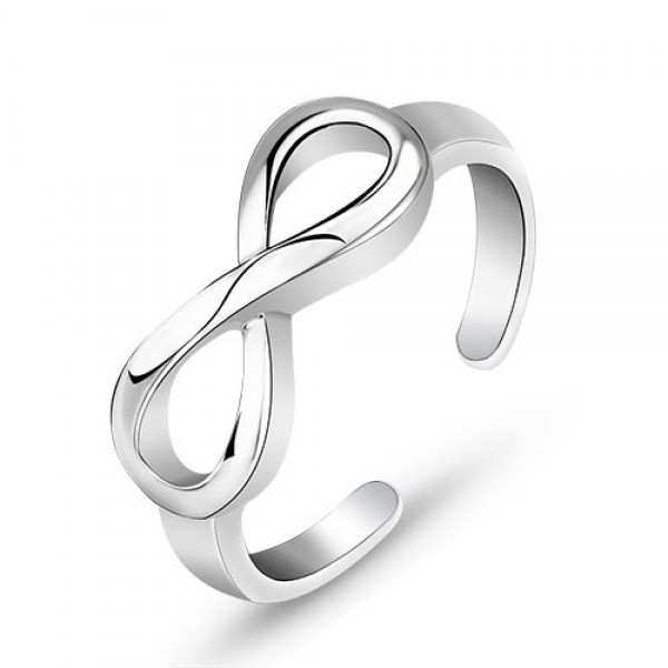 S925 Sterling Silver Opening Personality Ring