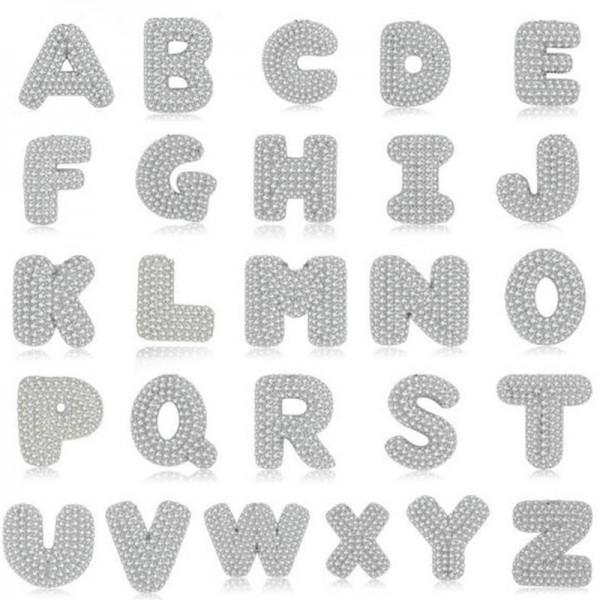925 Sterling Silver Alphabet A-Z 26 Letter Cubic Zirconia Pendant Necklace for Women Girls Men Boys 18 Inch