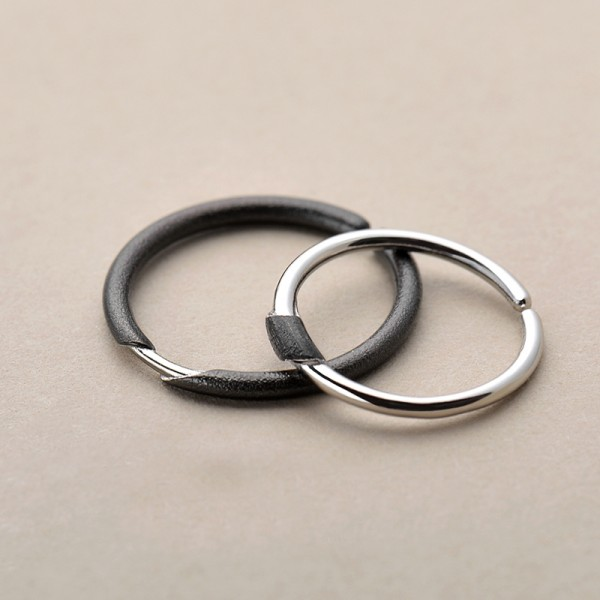 Original Design Inseparable Simple Lovers Ring