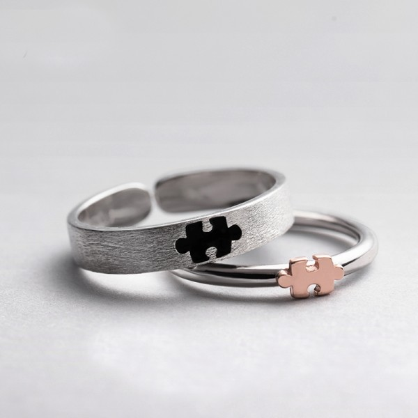 Original Design Forever Love Simple Lovers Ring