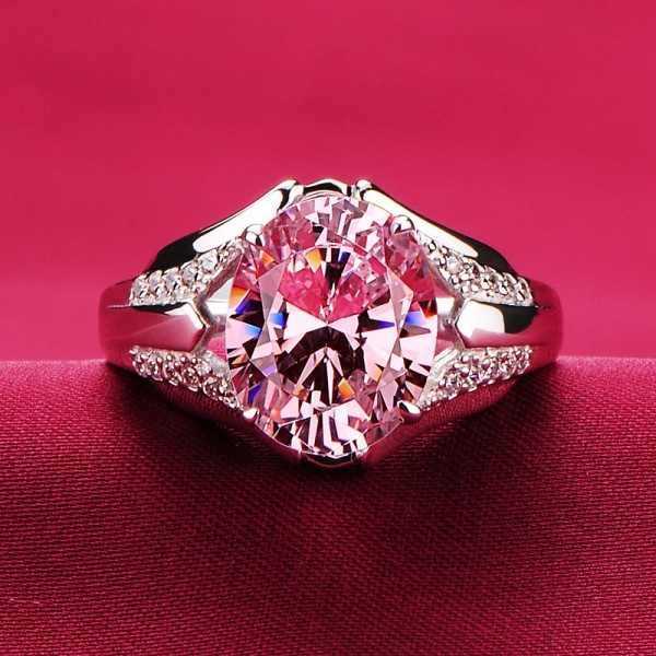 Dazzling 3.00 Carat ESCVD Diamonds Lovers Ring Wedding Ring For Her