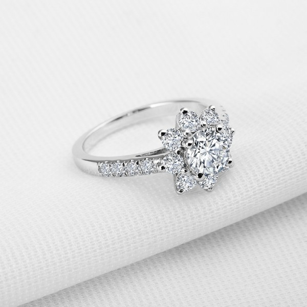 Fashion Simple Personalized Star 925 Sterling Silver Wedding/Promise Ring
