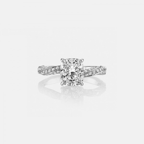 Interweave Beautiful 925 Sterling Silver Wedding/Promise Ring