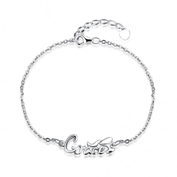 """Grace"" Romantic S925 Sterling Silver Bracelet"