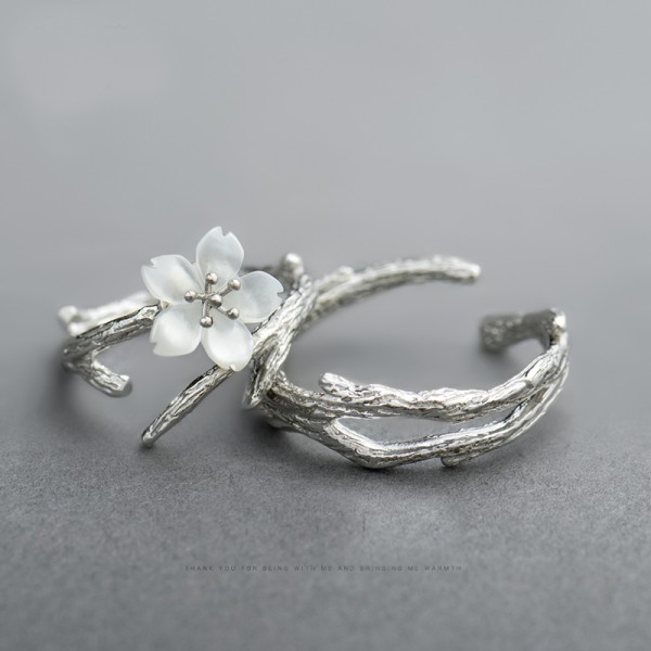 Original Snow Cherry 925 Sterling Silver For Couples