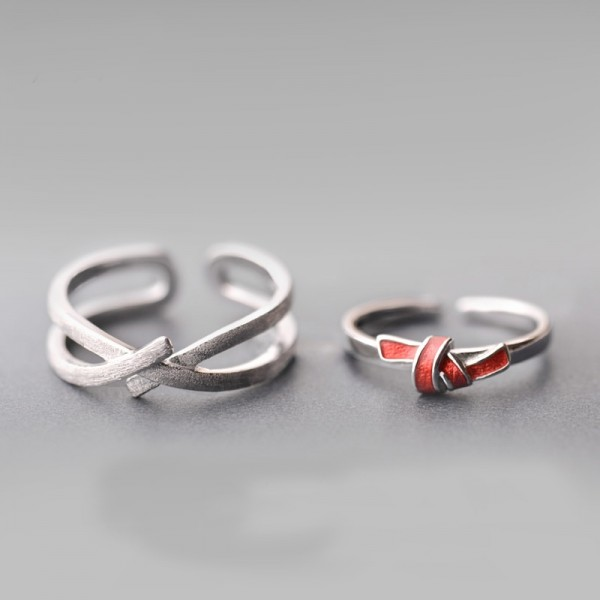 Original Design The Promise of Love Simple Lovers Ring