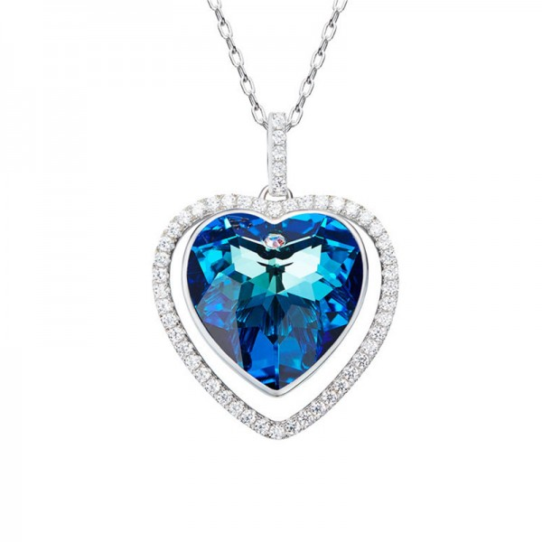 S925 Sterling Silver Ladies Necklace