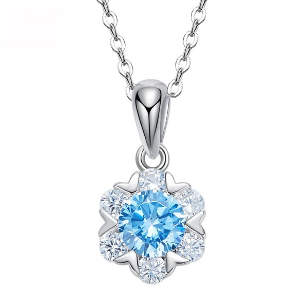 Simple Elegant S925 Silver Necklace